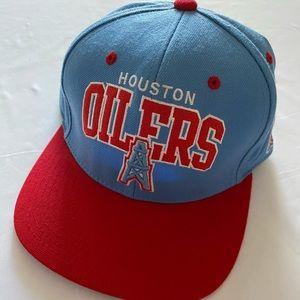 NFL Vintage Houston Oilers SnapBack Hat